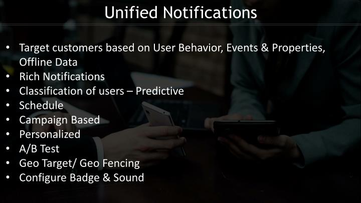 Unified Notifications
