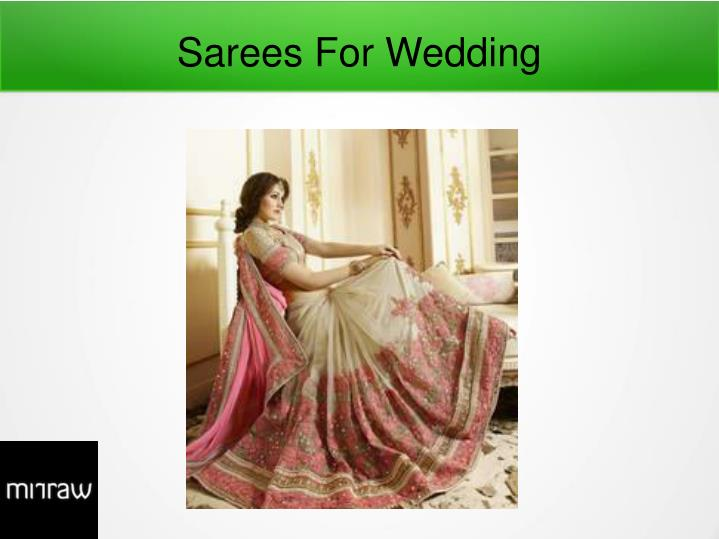 sarees for wedding n.