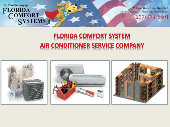 florida comfort system air conditioner service company n.