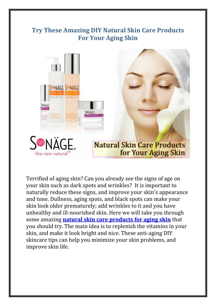 try these amazing diy natural skin care products n.