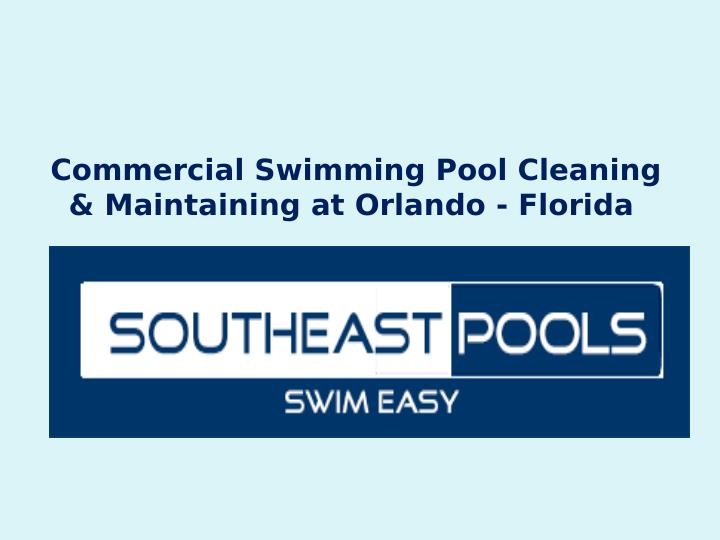commercial swimming pool cleaning maintaining n.