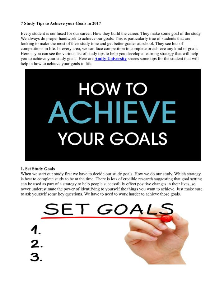 "strategies may help you achieve your career goals essay Always make sure the goals you talk about wanting to achieve could actually happen in the company this train of thought will not only help you answer the question- but can also help you figure out which companies have a future for you  as you try to answer the ""what are your career goals"" question- you have to find the middle ground."