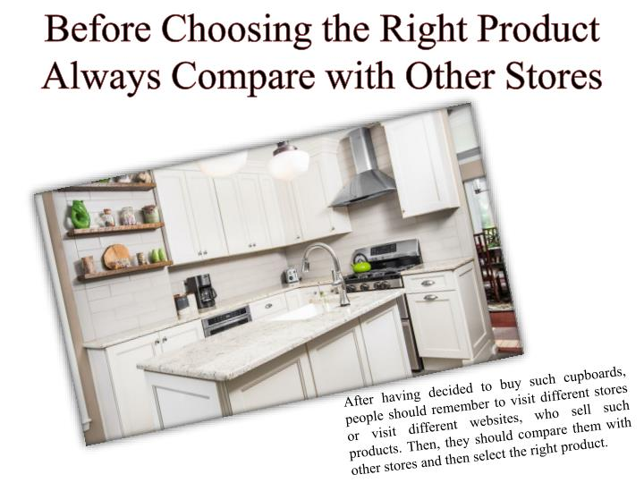 Before choosing the right product always compare
