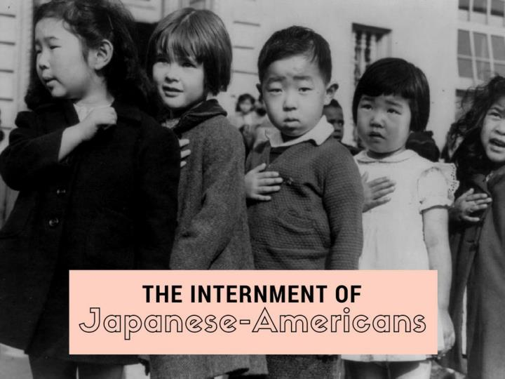the internment of japanese americans n.