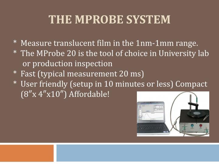 the mprobe system n.