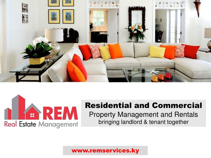 residential and commercial property management n.