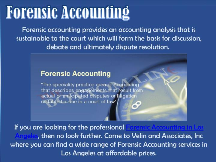 Ppt discover forensic accounting los angeles powerpoint for Forensic audit of mortgage loan documents