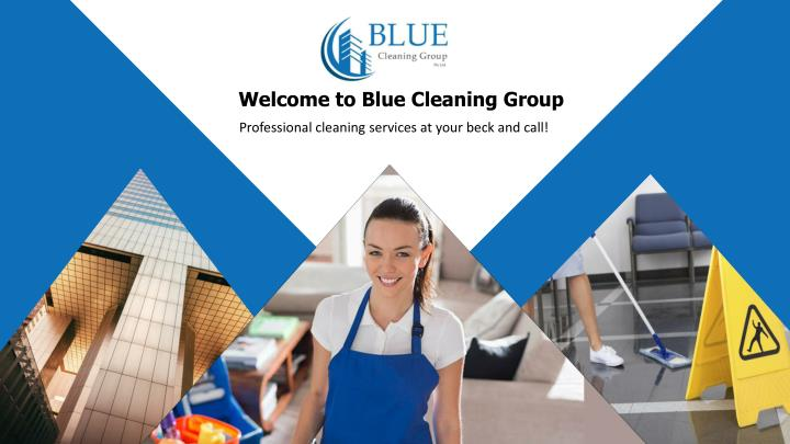 welcome to blue cleaning group n.