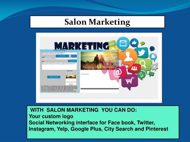 salon marketing software