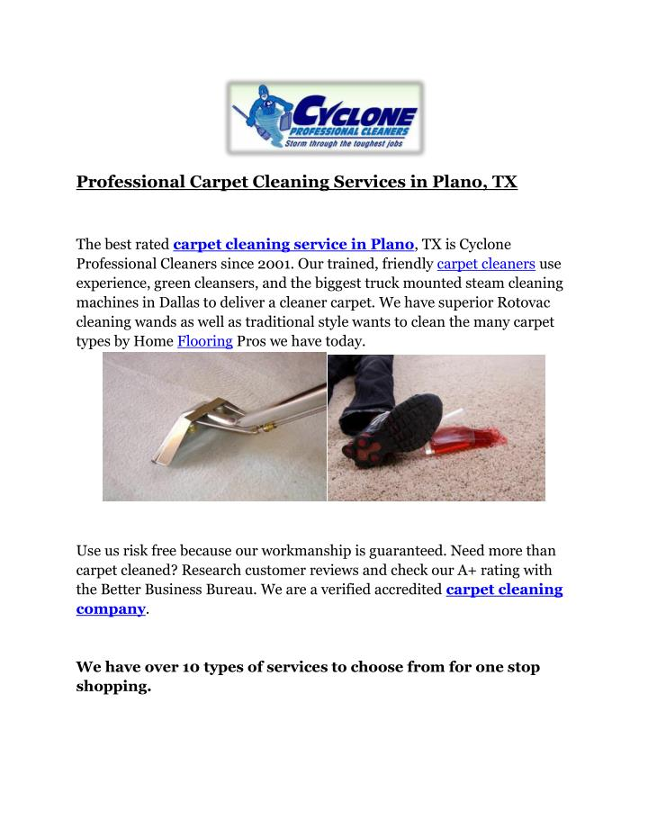 professional carpet cleaning services in plano n.