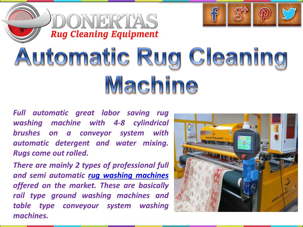 Ppt Oriental Rug Cleaning Equipment