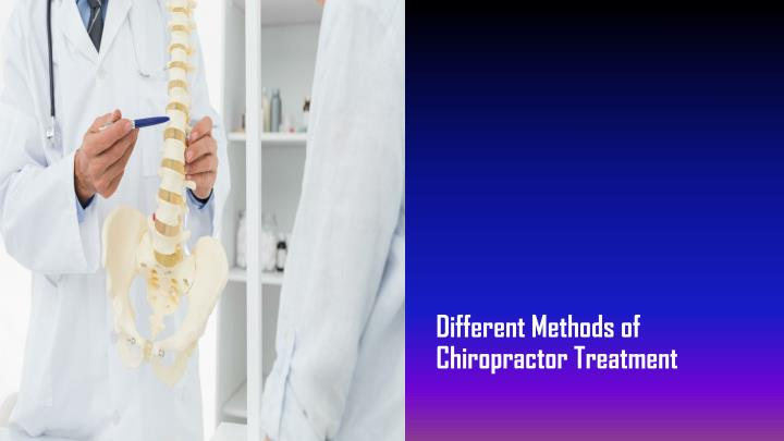 different methods of chiropractor treatment n.