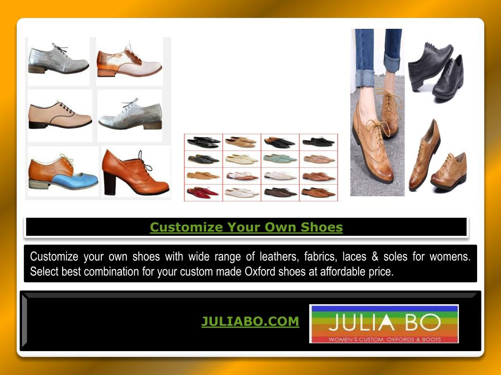 Own Shoes PowerPoint Presentation