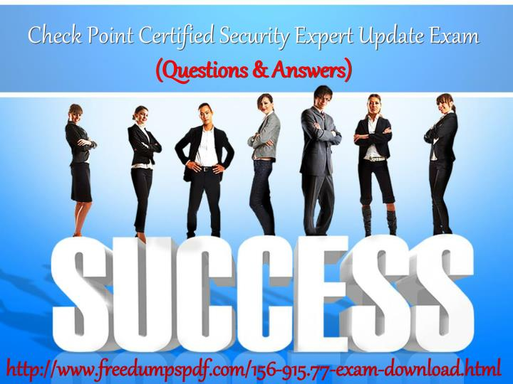 check point certified security expert update exam n.