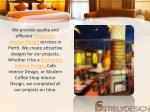 we provide quality and efficient hospitality