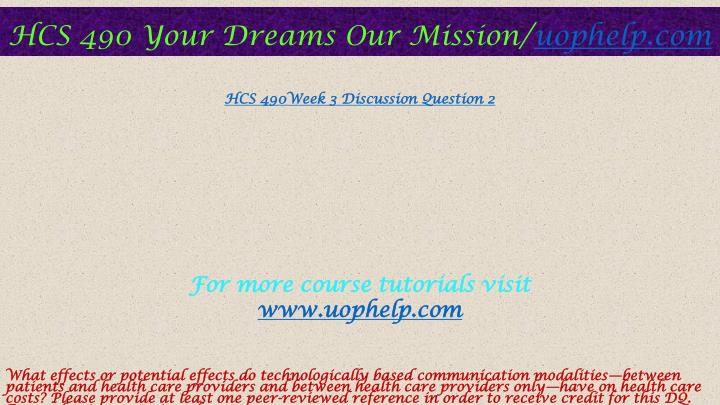 article summary hcs 490 Free essay: hcs 490 (healthcare consumer) complete class if you want to purchase a+ work then click the link below , instant download.