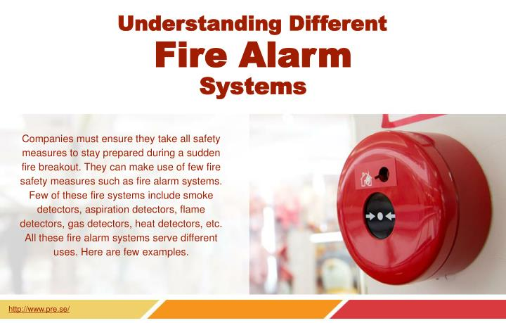 Ppt The Different Types Of Fire Alarm Systems Powerpoint
