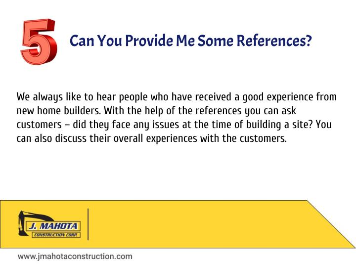 Ppt questions to ask your builder when building a new for Good questions to ask a home builder