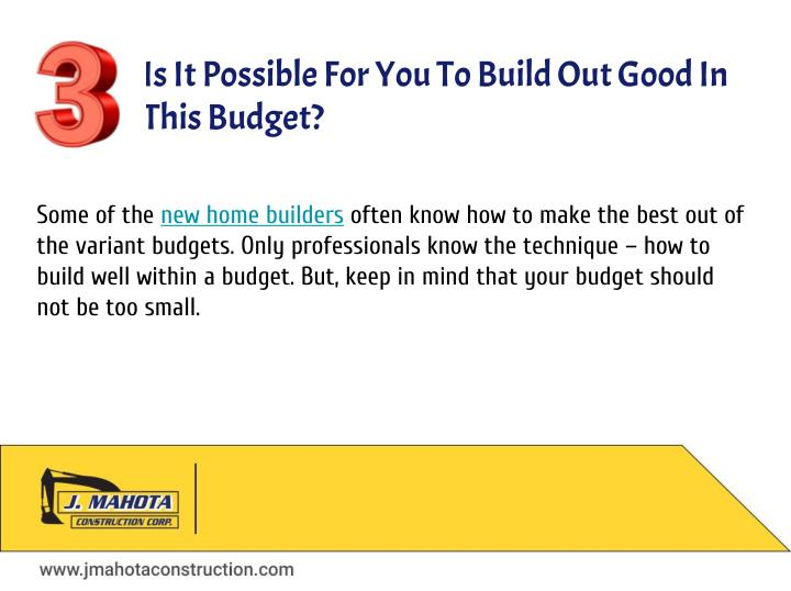 Ppt questions to ask your builder when building a new for Questions to ask a builder