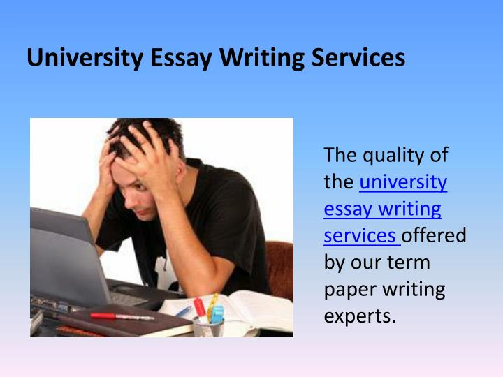 College paper writing service powerpoint