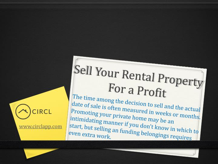 sell your rental property for a profit n.