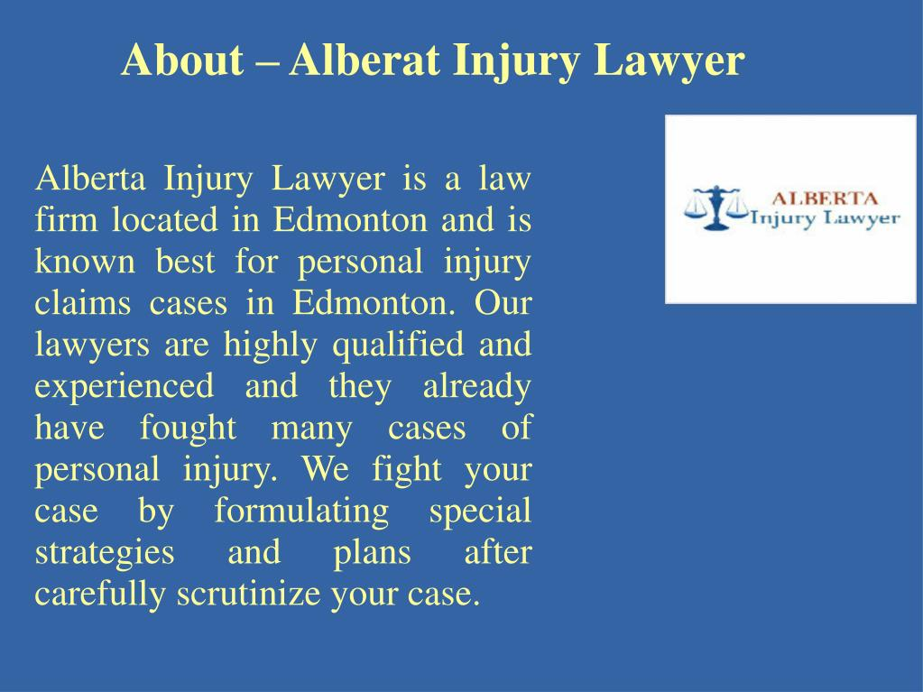 PPT - Best Personal Injury Lawyer In Edmonton PowerPoint