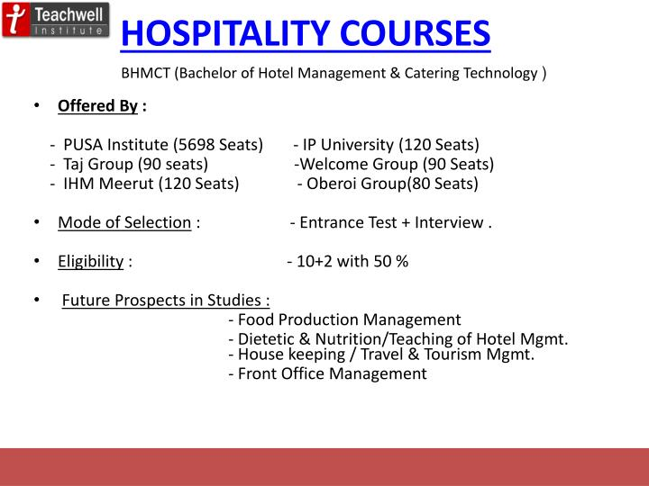 hospitality management 4 essay
