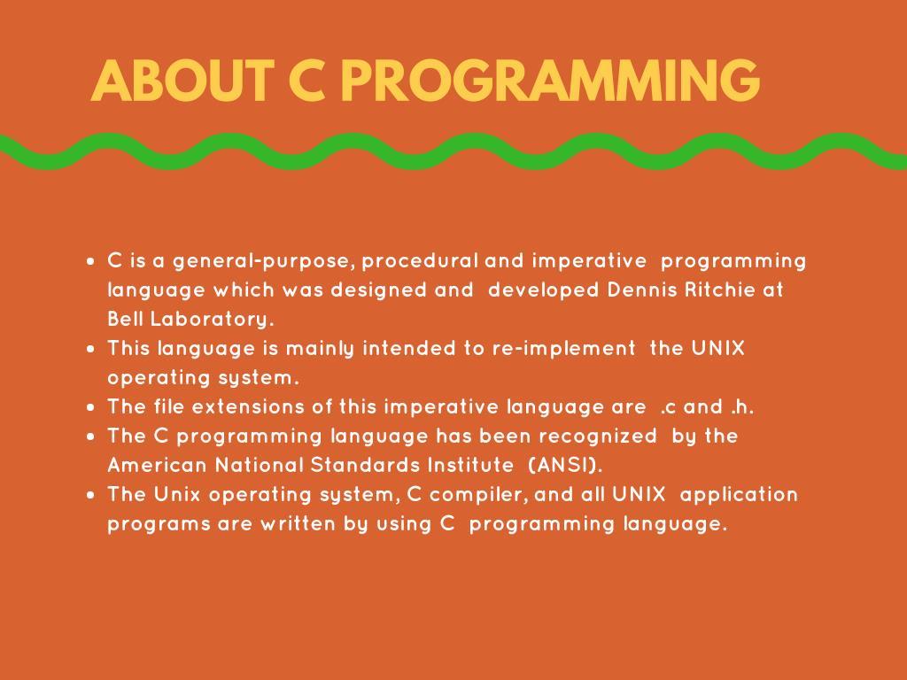 PPT - Best C Programming Course Online PowerPoint