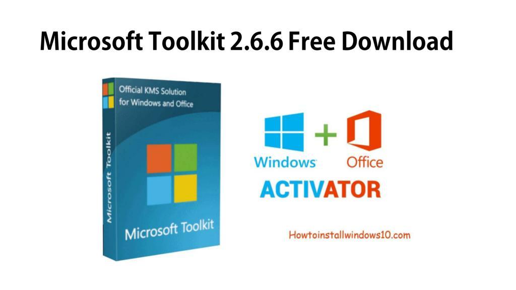 Download microsoft toolkit 2 6