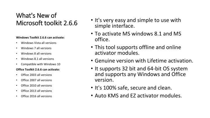Microsoft toolkit office 2013 32 bit | Microsoft Toolkit 2 6