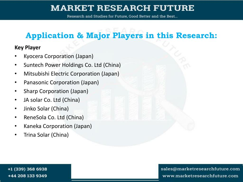 PPT - Global Thin Film Photovoltaic Market Size, Share, Research