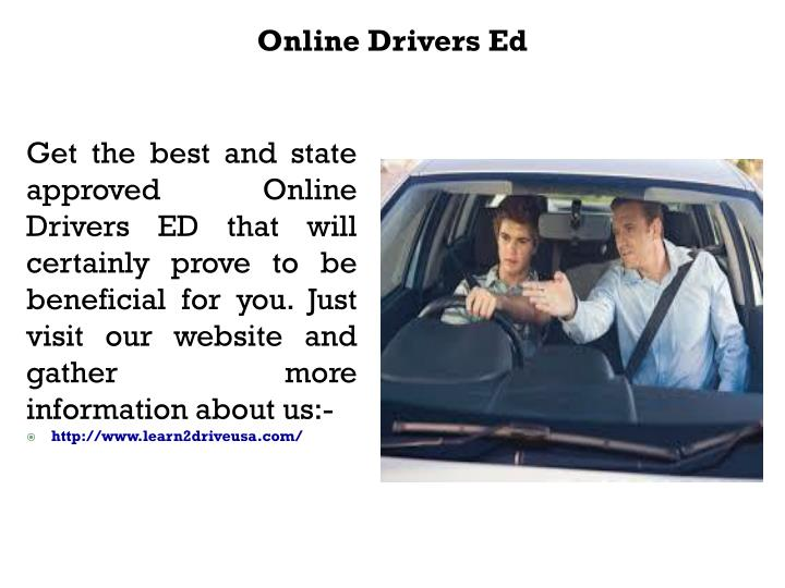 Drivers Ed Online >> Ppt Online Drivers Ed Powerpoint Presentation Id 7516948
