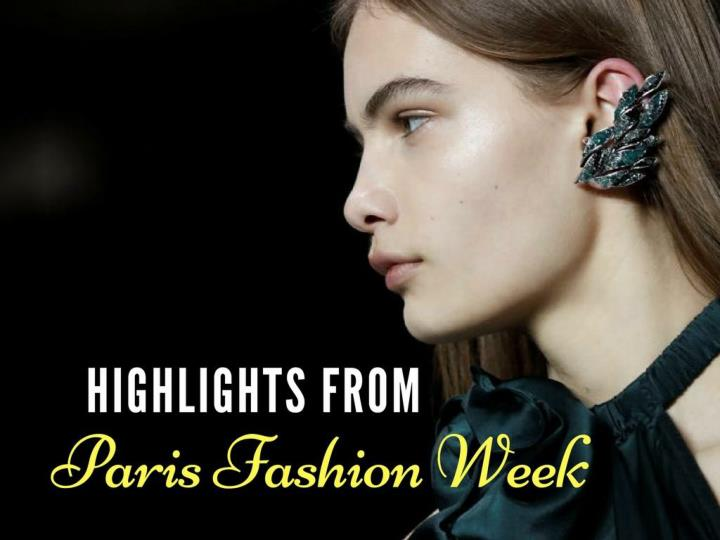 highlights from paris fashion week n.
