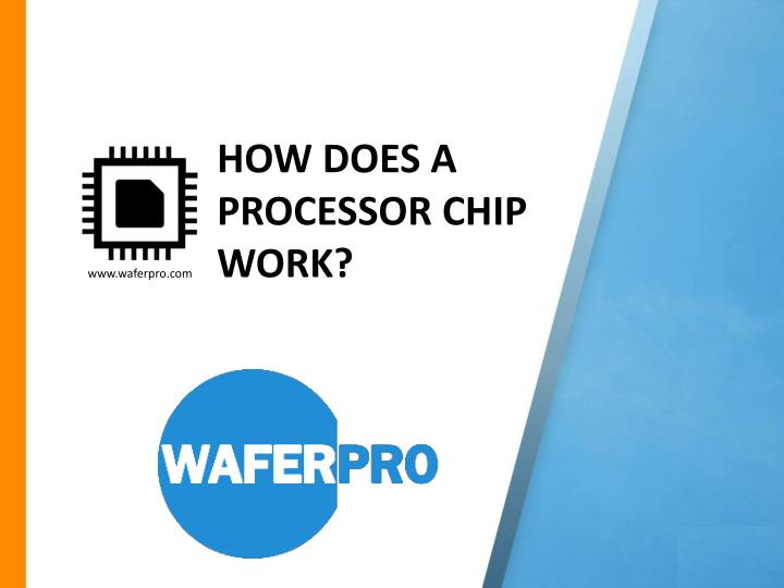 how does a processor chip work n.
