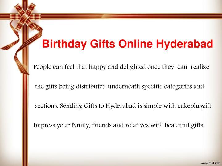 Birthday Gifts Online Hyderabad