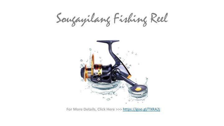 Sougayilang fishing reel