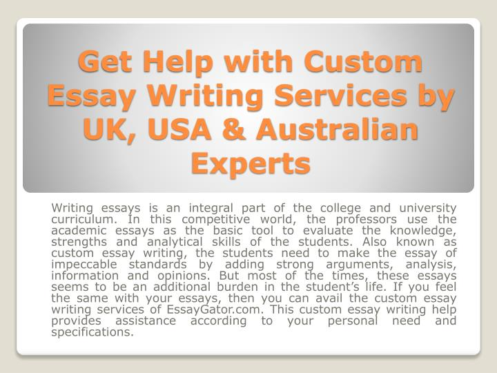 Usa essay writing services