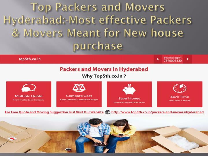 top packers and movers hyderabad most effective packers movers meant for new house purchase n.