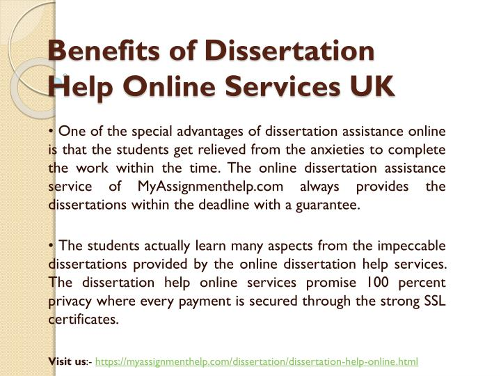 dissertation help service Mydissertations - your dissertation writing service we understand dissertation content from start to finish this includes the abstract, introduction, research question, literature review, methodology, discussion, thesis, research proposal, and other details.