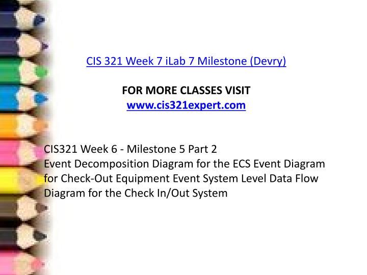 ilab week 6 devry