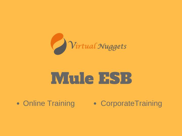PPT - Mule ESB Online Training | Self Learning Videos PowerPoint