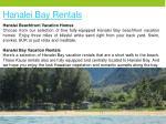 hanalei bay rentals