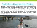 north shore kauai vacation rentals