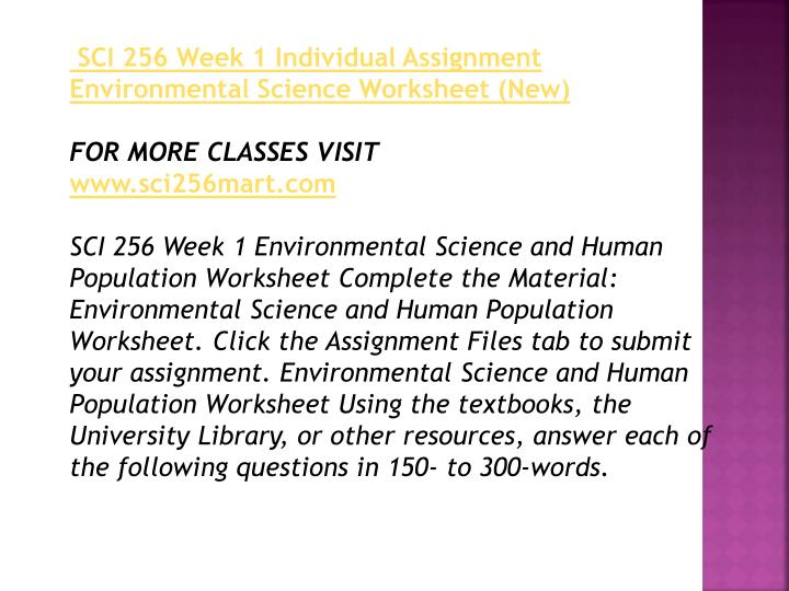 environmental science and human populations worksheet essay