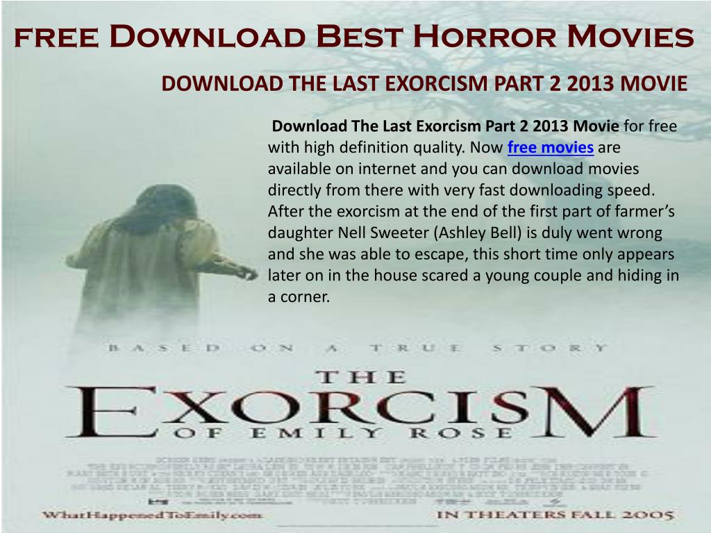 latest english horror movies free download