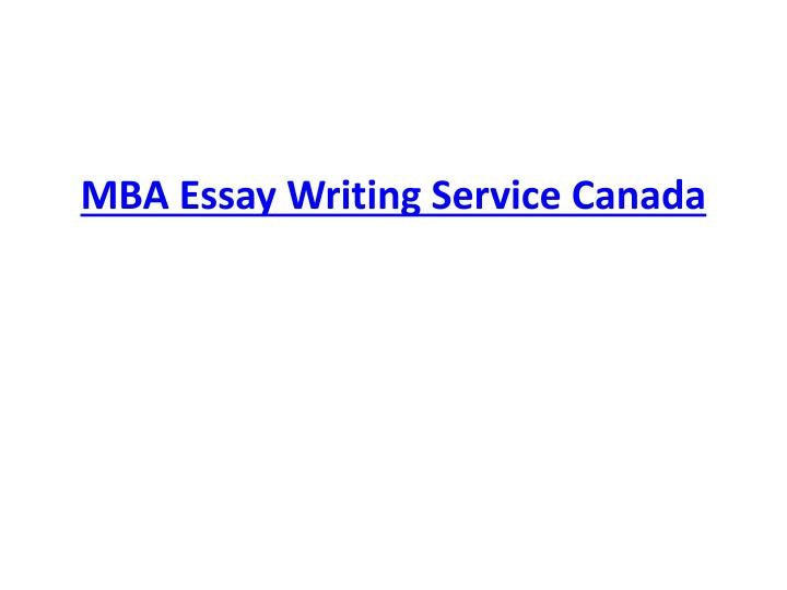 ppt mba essay writing service powerpoint presentation  mba essay writing service