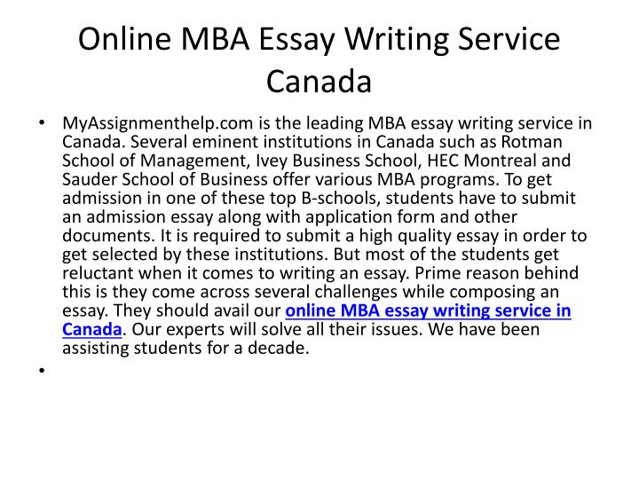 Dissertation writing service canada
