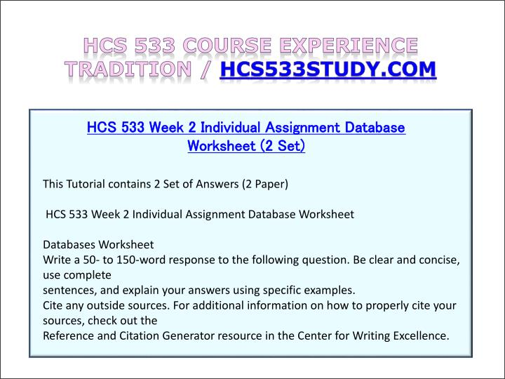 hcs 533 terms Hcs 533 log in view cart (0 items) hcs 533 hcs 535 hcs 545 hcs 550 hcs 552 hcs 577 hcs hcs 533 week 1 individual assignment definition of terms $15.