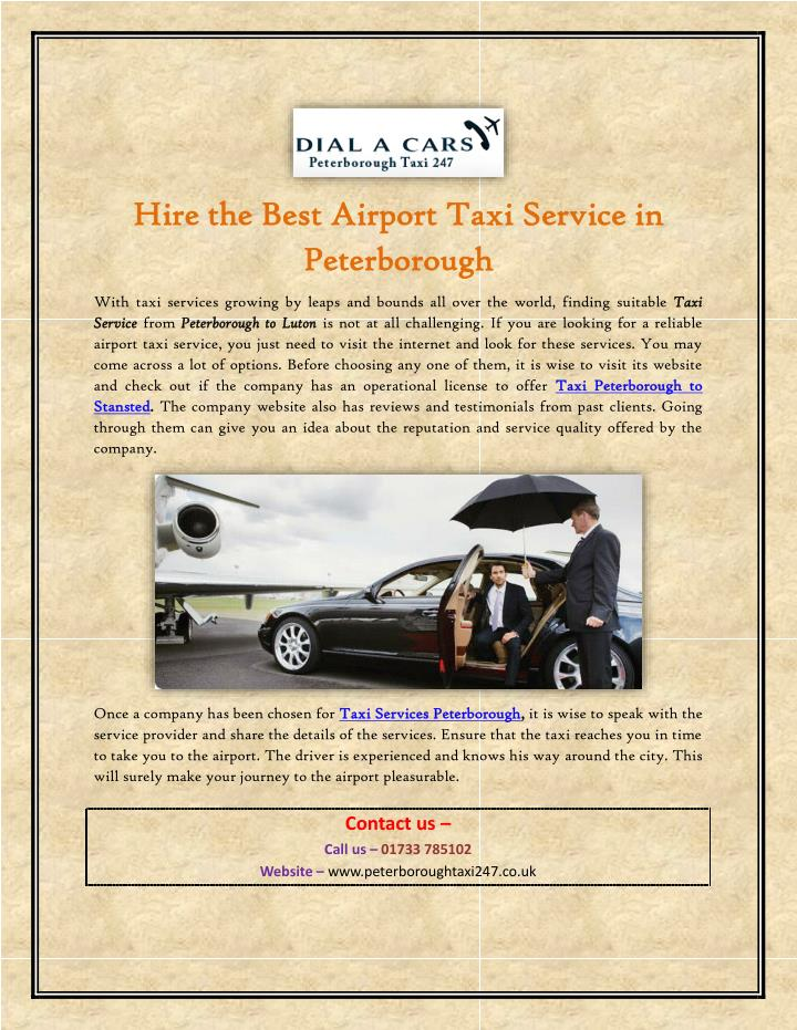hire the best airport taxi service in hire n.