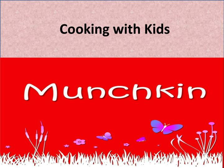cooking with kids n.